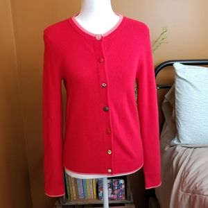 •Anthropologie• Red Cardigan Sweater
